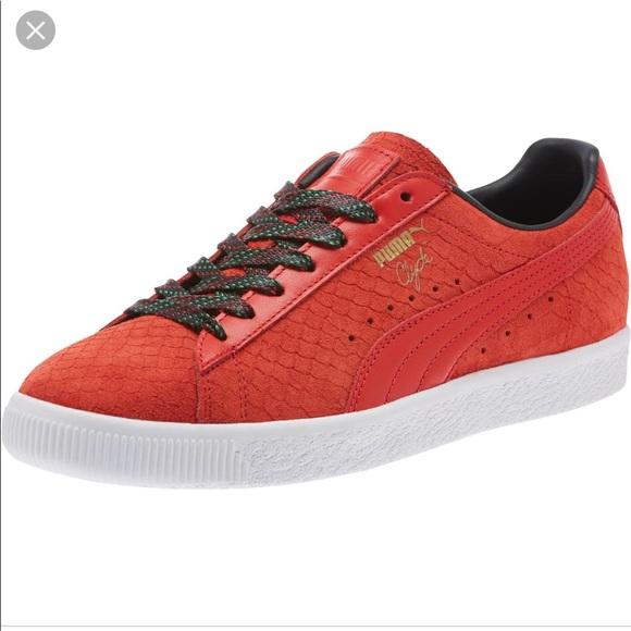 95bf648e8ad Puma Clyde GCC sneakers NWT